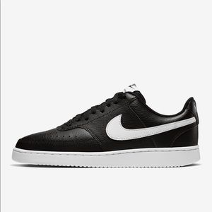 Nike Court Vision Low black sneakers size 11